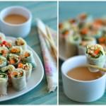 Spring rolls de quinoa y verduras