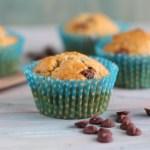 Muffins de Plátano y Chips de Chocolate