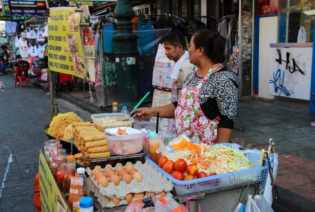Bangkok: Comida callejera en su máximo esplendor