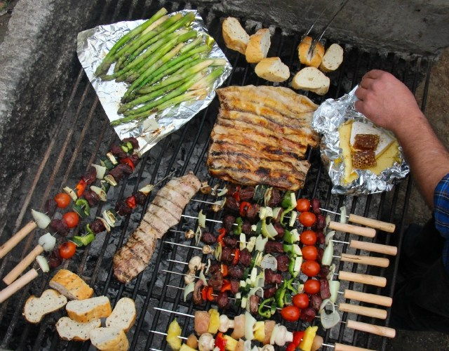 8 ideas para tirar a la parrilla for Ideas para barbacoa