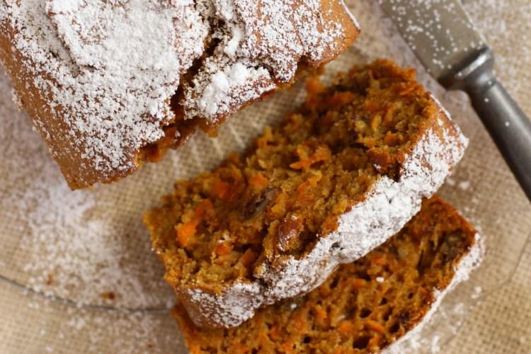 receta queque de zanahoria
