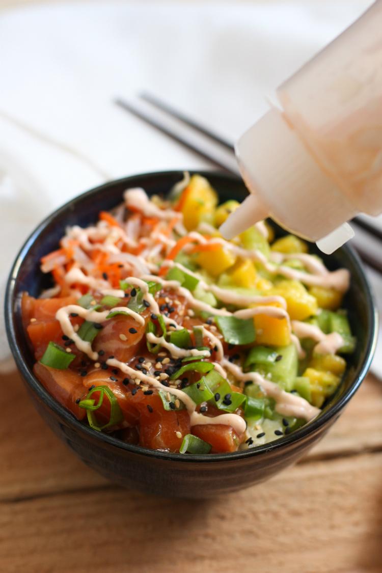 salsa poke bowl