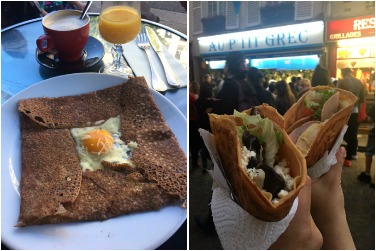 Crepes - Paris, Francia