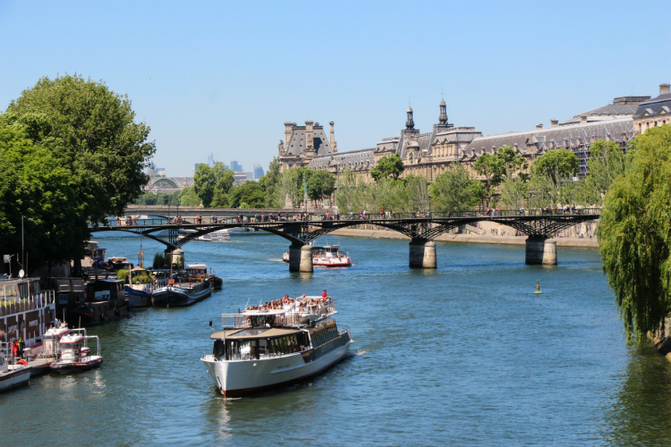París, Francia, río sena