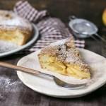 Kuchen (tarta) de manzana con crumble