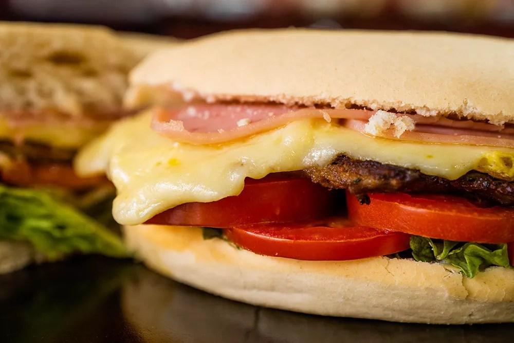 Sabores Mendoza | Hamburguesa Simple - Pedidos Online Delivery Mendoza