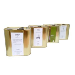 PACK D'HUILES d'olive Extra Vierge de 2,5 litres