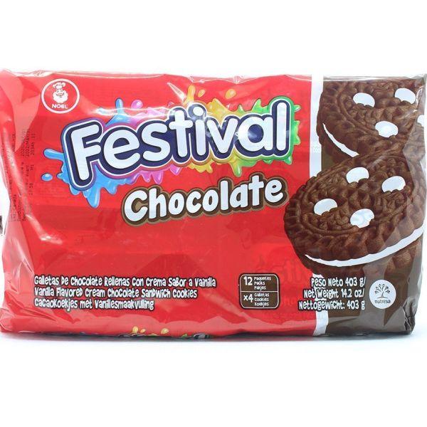 Galletas festival de chocolate