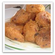 Foto de un plato con frituras de malanga