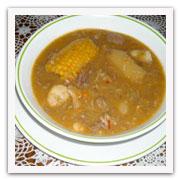 Un plato de sopón habanero