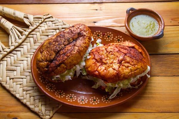 Menú de comida mexicana: antojitos mexicanos