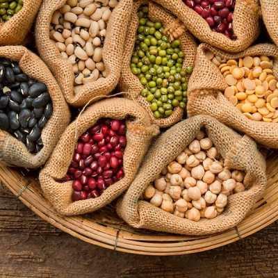 Porciones de alimentos que debemos consumir - leguminosas