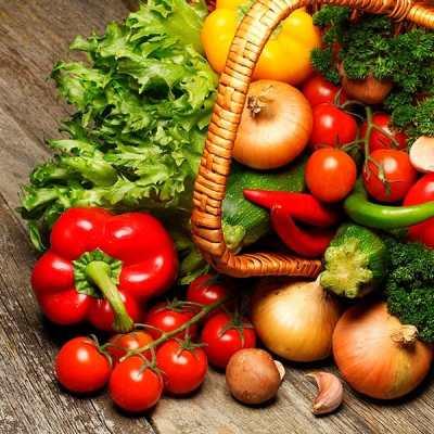 Porciones de alimentos que debemos consumir - Verduras