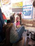 Blue Lassi in Varanasi