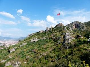 Crusader fort, Fethiye