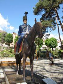Hussar Statue, St George Park, Sfantu Gheorghe