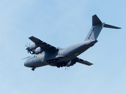 A400M - The newest Airbus in service