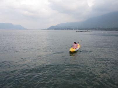 Prunella Kayaking