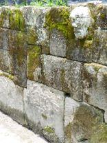 Interlocking stone wall