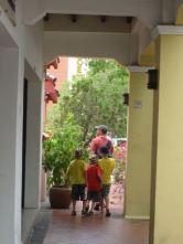 Five foot ways (Malay: Kaki lima)