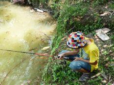 Reuben fishing solo