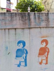 TK-420 Checks out Bangkok Street Art