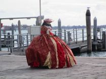 Costumed lady