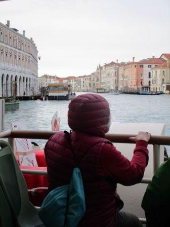 Pamela in Venice