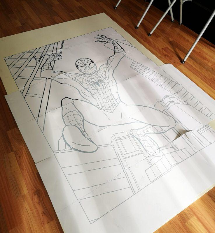 Sabrina Berrich [ DIY ] Anniversaire Spiderman - Photocall