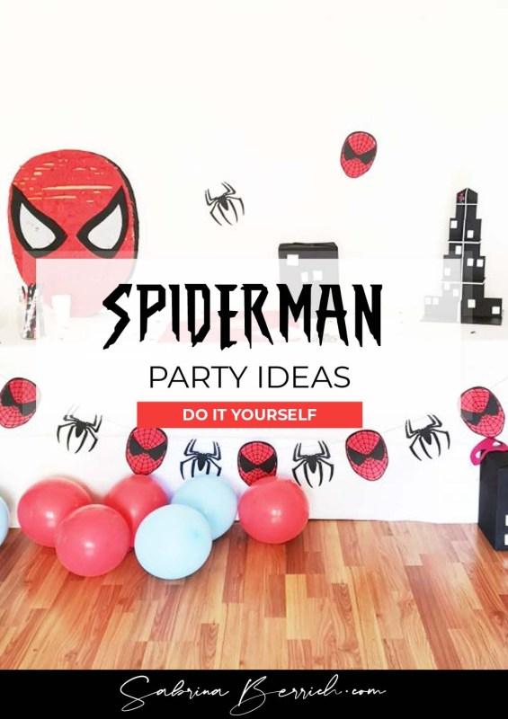 Sabrina Berrich [ DIY ] Anniversaire Spiderman