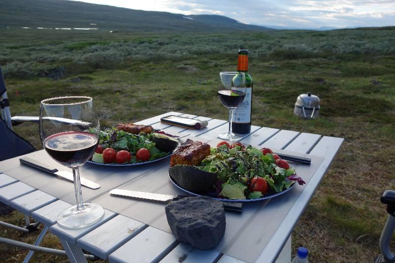 Abendessen Hardangervidda