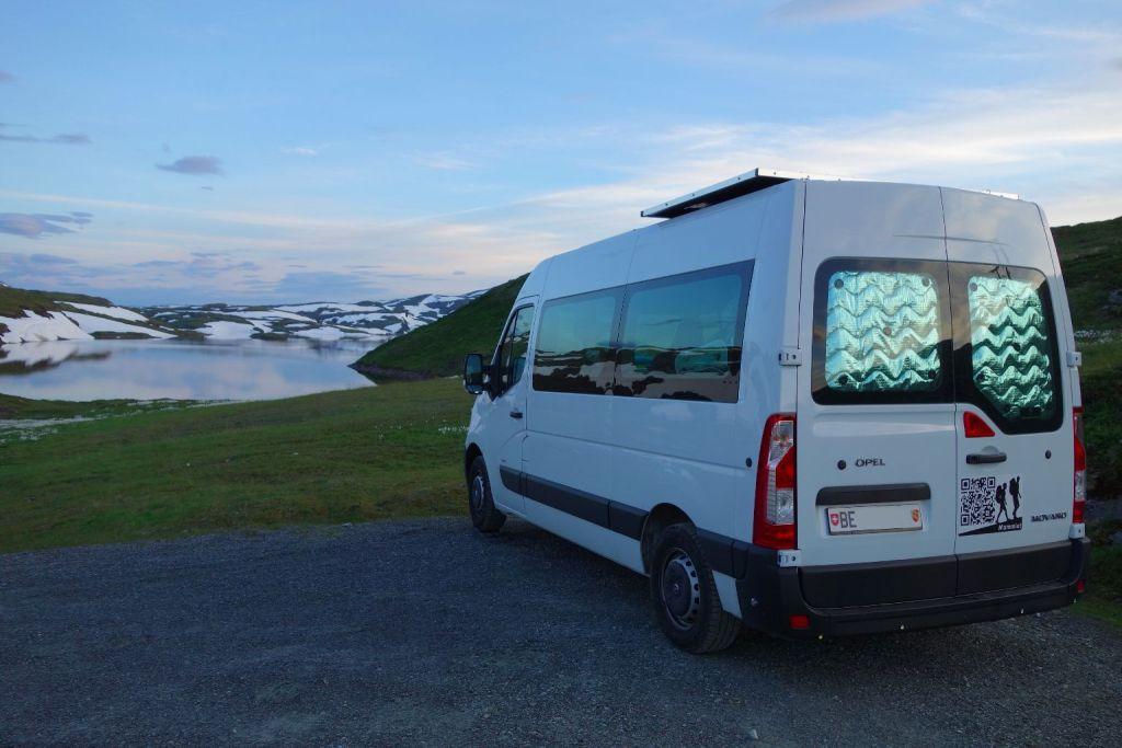 Norwegen im Minibus