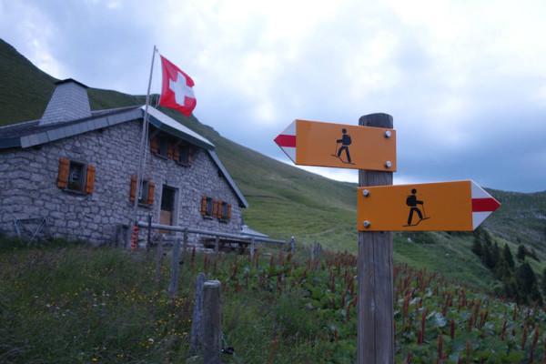 Berghütte nahe Tremetta