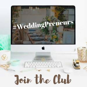 sabrina cadini business coach for wedding entrepreneurs elevate your brand be more profitable weddingpreneurs twitter chat community join the club
