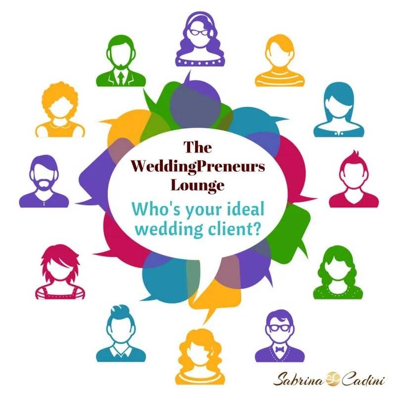 weddingpreneurs lounge, ideal client, avatar