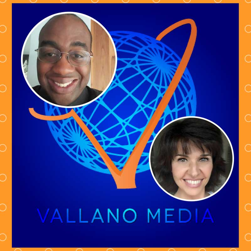 sabrna cadini guest on vallano media podcast wedding business coach live streaming digital marketing