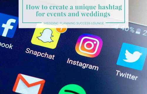 sabrina cadini wedding planning success lounge create unique hashtags for events and weddings business coach social media instagram