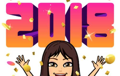 sabrina cadini happy new year 2018 word collaborate business productivity entrepreneurs creatives group