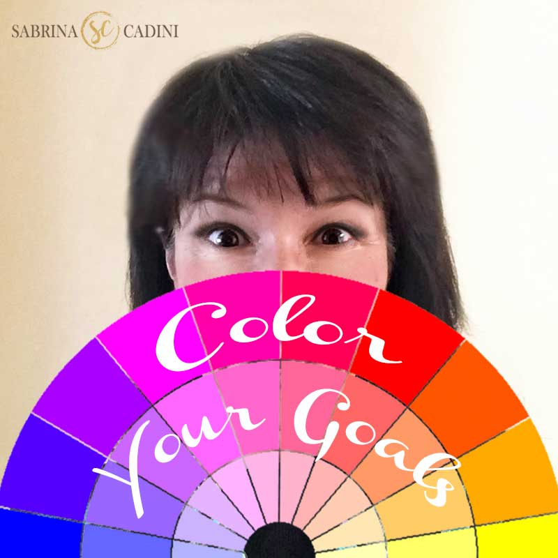 sabrina cadini color your goals therapy creative entrepreneurs life-work balance strategy colors periscope live streaming broadcast coloring page