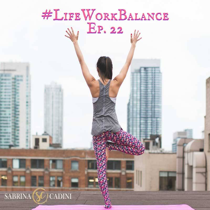 sabrina cadini life-work balance exercise at work stress office fitness creative entrepreneurs business coach time management productivity