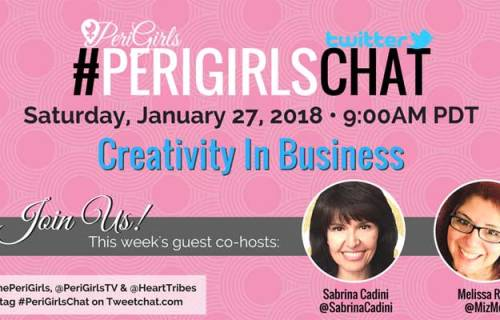 sabrina cadini creativity twitter chat perigirlschat guest business coaching inspiration creative entrepreneurs