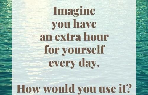 sabrina cadini mindful monday life-work balance extra hour habits mindfulness meditation writing
