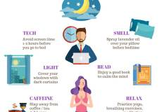 sabrina cadini graphic sleep time life-work balance work-life balance tips sleep hygiene life coaching relax digital detox yoga meditation
