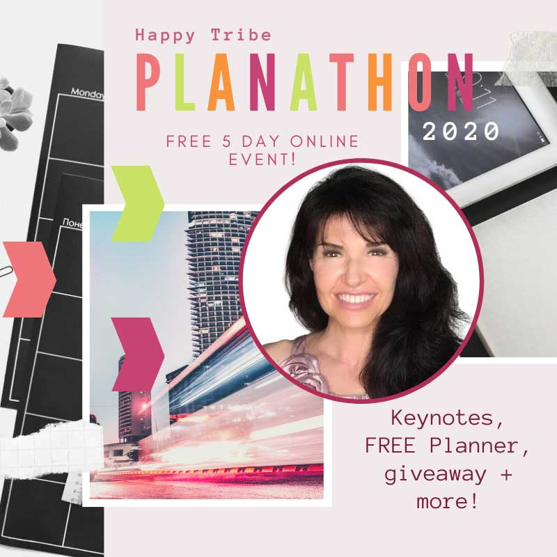 sabrina cadini holistic life coach brain fitness life-work balance online summit happy tribe planathon 2020 happily hedy