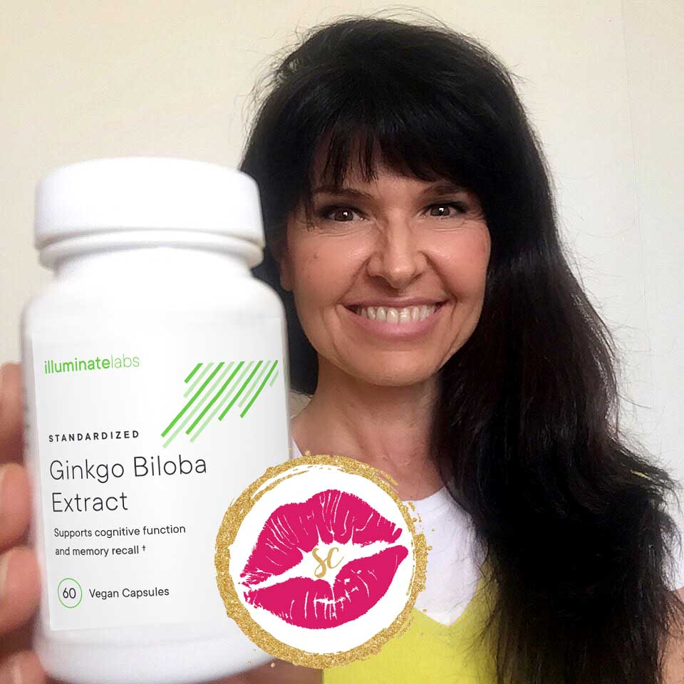 Review - Kiss of Approval: Ginkgo Biloba Extract by Illuminate Labs - Sabrina Cadini