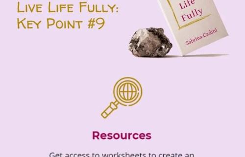 sabrina cadini live life fully life-work balance book crowdfunding campaign holistic life coach
