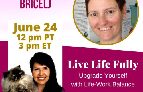 sabrina cadini live life fully show zala bricelj life-work balance interview health well-being holistic life coach