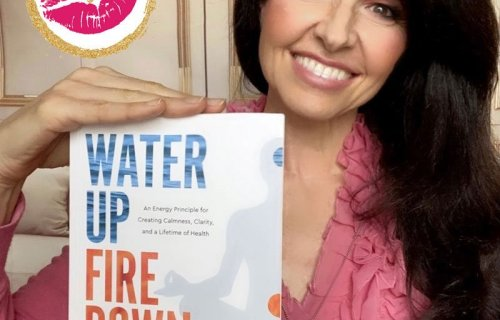 sabrina cadini book review water up fire down ilchi lee kiss of approval review holistic life coach life-work balance