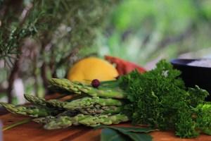 Asparagus Lemon Parsley Chives Shallot