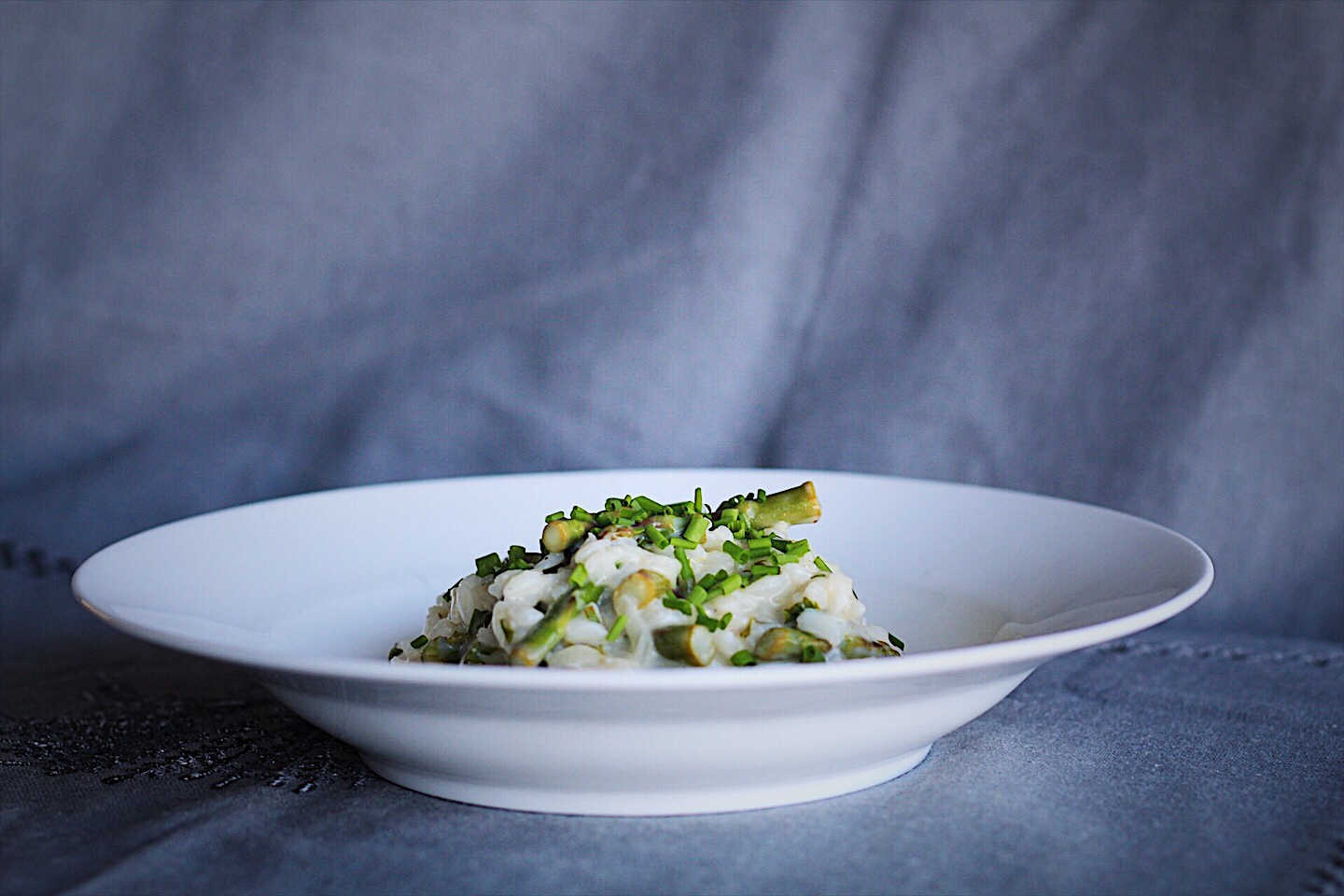 Easy Spring Asparagus Risotto